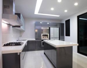 小清新风范:韩式浪漫简约厨房装修效果图