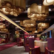 欧式酒店创意大堂灯饰设计