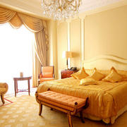 欧式奢华卧室飘窗设计
