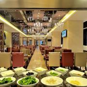 高档西餐厅皮制桌椅设计
