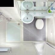 简约公寓小型卫生间装饰