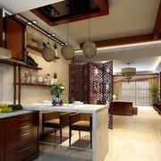 中式别墅厨房装饰