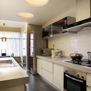 后现代风格厨房吧台设计