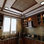 中式别墅大型厨房设计