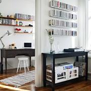 单身公寓后现代风格书房设计