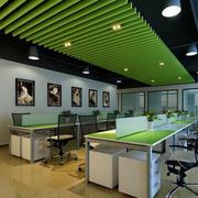 办公室简约天花板装饰