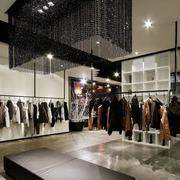 现代简约风格服装店吊顶设计