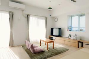 60㎡小户型日式公寓装修效果图
