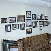 美式简约风格照片墙