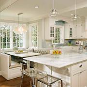 混搭风格大型厨房装修