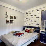 老房卧室背景墙装饰