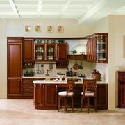 美式开放性厨房装修