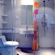 白色简约风格卫生间装饰