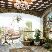 欧式风格花园装修