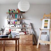样板房混搭风格书房设计