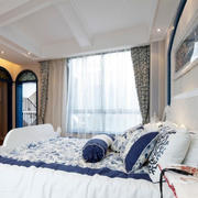 欧式风格卧室拱形门设计