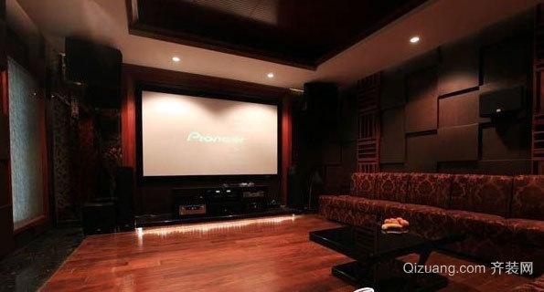 胜过电影院的家庭影院装修效果图