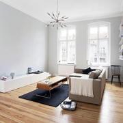 后现代风格客厅简约灯饰装修