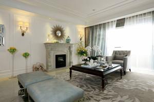 法式家装客厅沙发设计