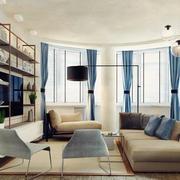 简约风格公寓客厅沙发装饰