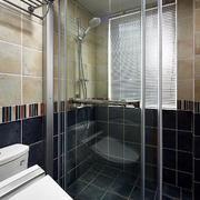 简约风格老房卫生间隔断设计