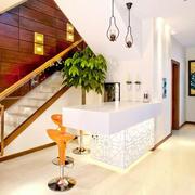 简约风格复式楼楼梯设计