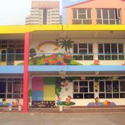 幼儿园卡通背景墙设计
