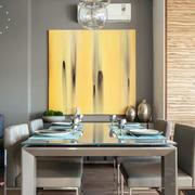 一室一厅餐厅桌椅设计