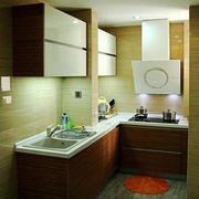 中式公寓厨房效果图