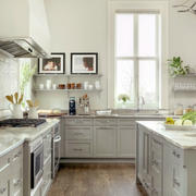 美式奢华厨房装饰