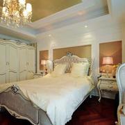 欧式简约风格别墅卧室装修