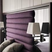 别墅卧室软包床头背景墙