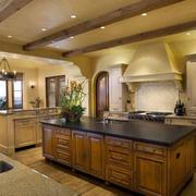 别墅美式开放式厨房
