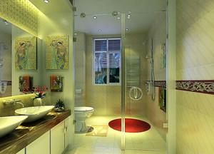 新时代精致万分的小户型卫生间瓷砖装修效果图欣赏大全