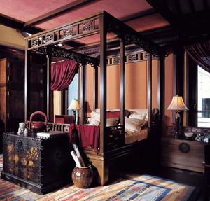 别墅复古卧室装修