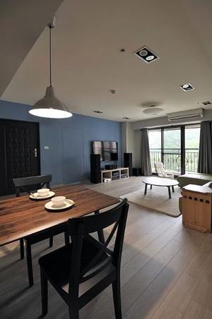2015敞亮自然的北欧风格三居室家装效果图