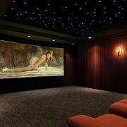 家庭影院软质沙发设计