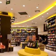 简约风格书店整体书柜装饰