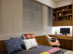 爱生活亲近自然:120平米全原木两居室装修效果图
