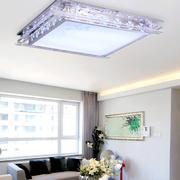 现代简约风格客厅水晶灯装修