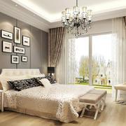 美式风格卧室照片墙装修