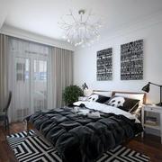 后现代风格卧室飘窗设计