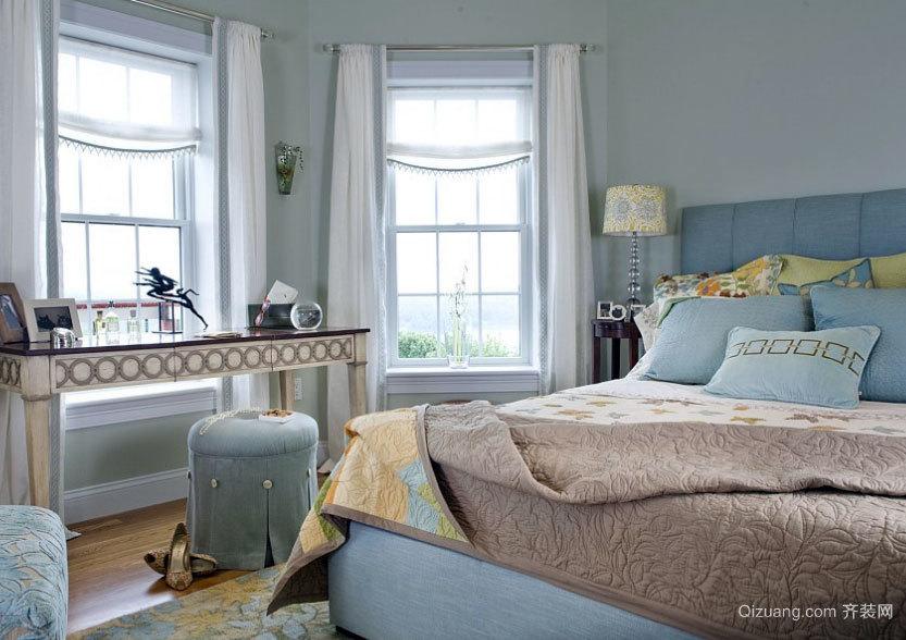 幸福至上:舒适家居大户型北欧风格卧室装修效果图欣赏大全