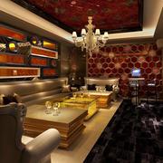 欧式风格ktv沙发装饰