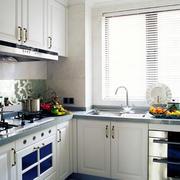L型欧式简约风格厨房装修