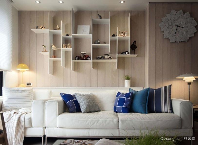 清新北欧风格独栋别墅房子装修效果图