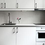 简约风格公寓厨房洗漱池