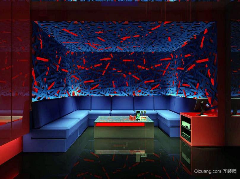 都市的夜生活 KTV室内装修效果图一览