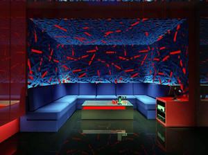 ktv创意式3d背景墙设计