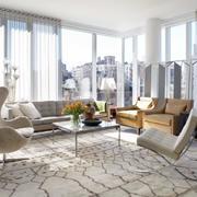后现代风格复式楼客厅设计